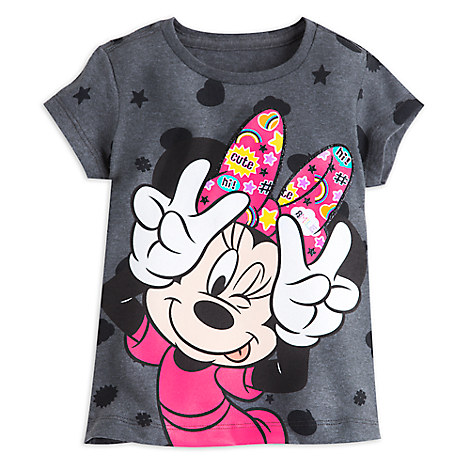 Minnie Mouse Allover Tee for Girls