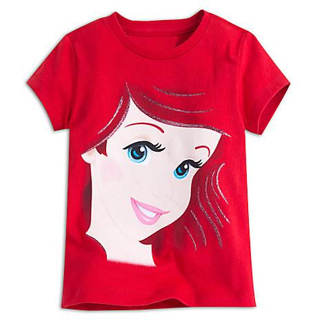 Ariel Portrait Tee for Girls