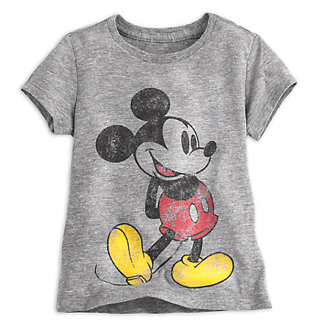 Mickey Mouse Classic Heathered Tee for Girls