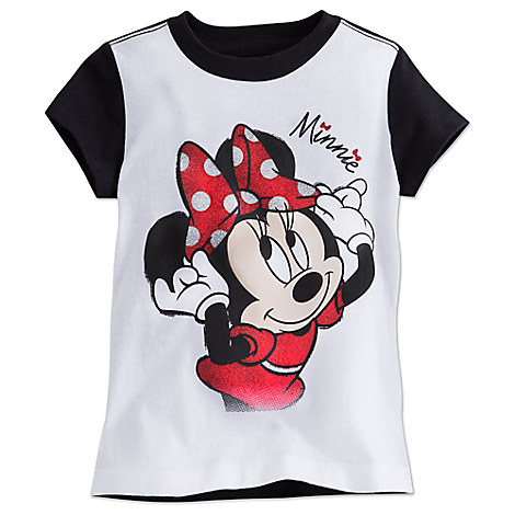 Minnie Mouse Ringer Tee for Girls