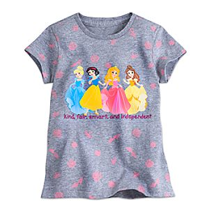 Disney Princess Cuties Tee for Girls