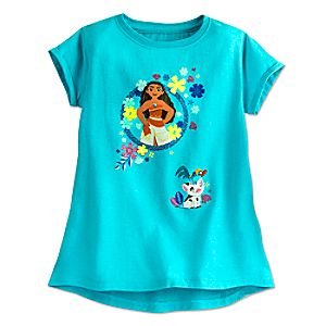 Disney Moana Fashion Tee for Girls