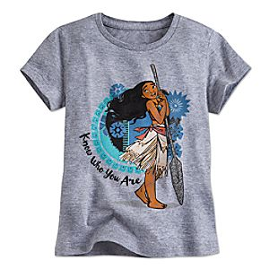 Moana Tee for Girls