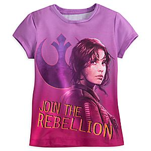 Sergeant Jyn Erso Tee for Girls - Rogue One: A Star Wars Story 5621045531218M