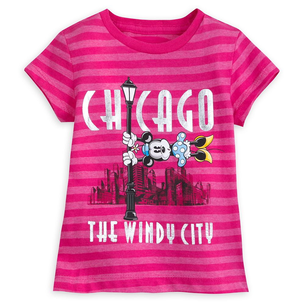 Minnie Mouse Chicago T-Shirt for Girls