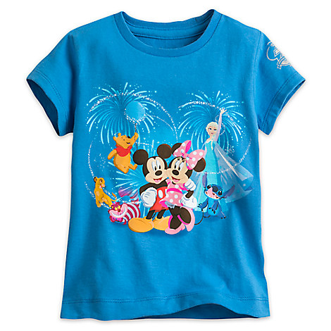 Disney Store 30th Anniversary Tee for Girls