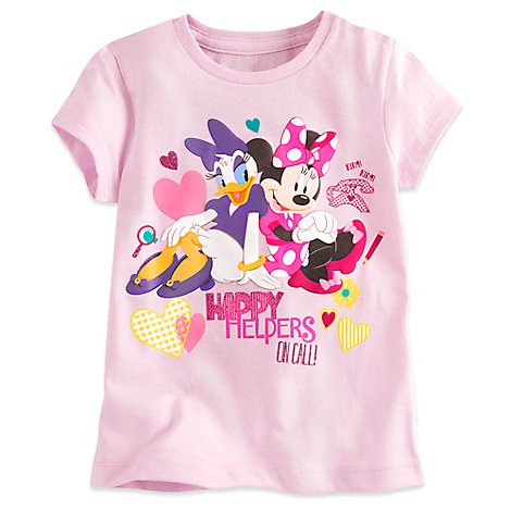 Minnie Mouse and Daisy Duck Tee for Girls