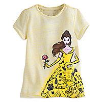 Belle Text Art Tee for Girls
