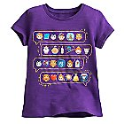 Beauty and the Beast Emoji Tee for Girls