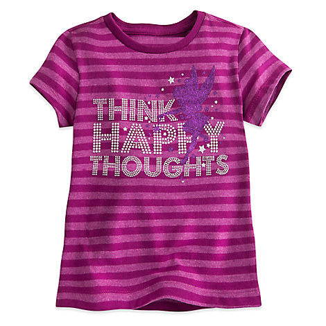 Tinker Bell Striped Tee for Girls
