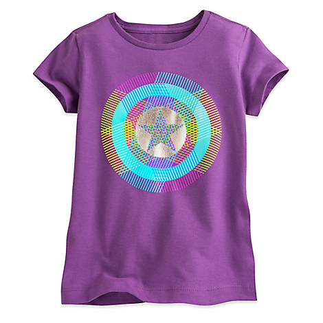 Captain America Shield Tee for Girls