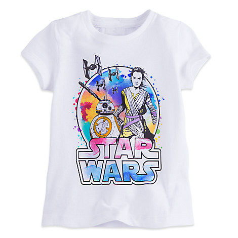 Rey and BB-8 Tee for Girls - Star Wars: The Force Awakens