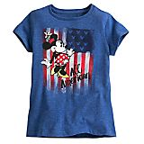 Minnie Mouse Americana Tee for Girls