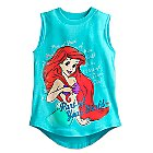 Ariel Tank Tee for Girls