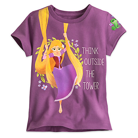 Rapunzel Tee for Girls - Tangled: The Series