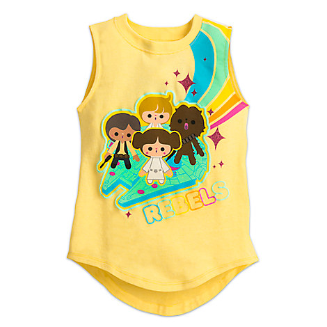 Star Wars Cuties Tank Tee for Girls
