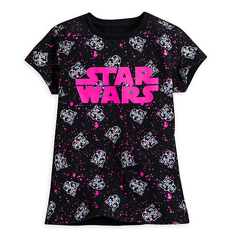 R2-D2 Cuties Tee for Girls - Star Wars