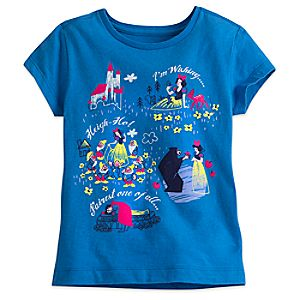 Snow White and the Seven Dwarfs Tee for Girls