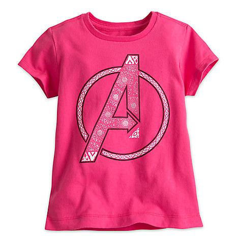 Avengers Logo Tee for Girls