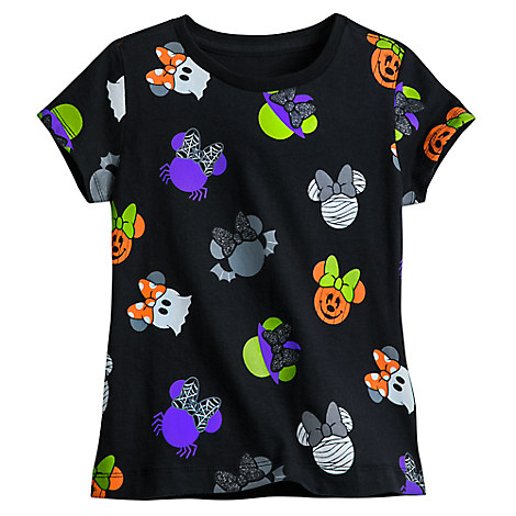 Minnie Mouse Icon Halloween Tee for Girls