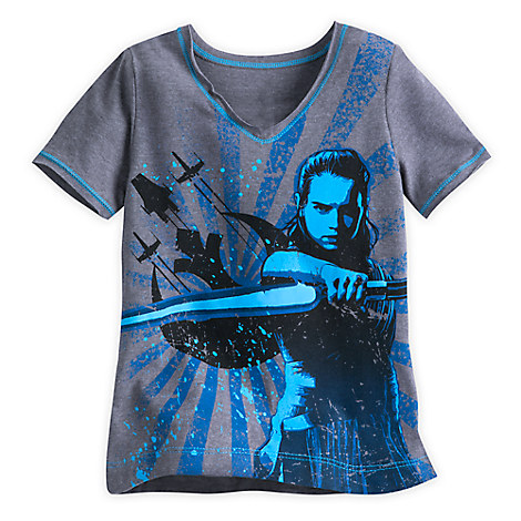 Rey T-Shirt for Kids - Star Wars: The Last Jedi
