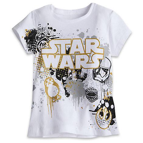 Star Wars Logo Tee for Girls