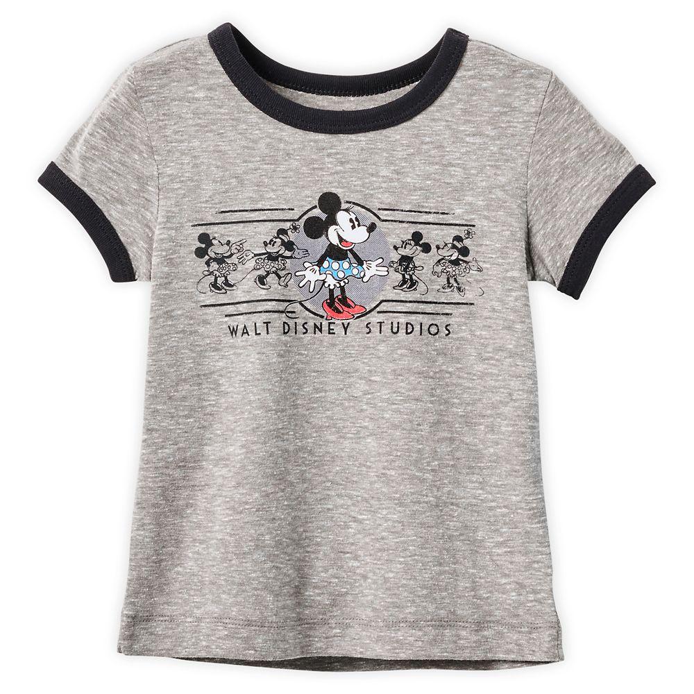 Minnie Mouse Ringer T-Shirt for Girls – Walt Disney Studios