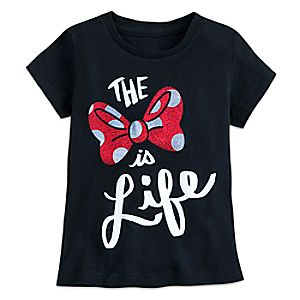 Minnie Mouse ''The Bow Is Life'' T-Shirt for Kids