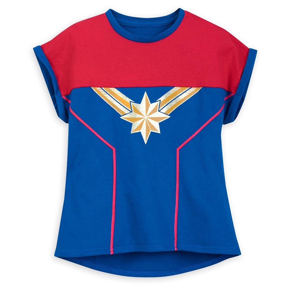 Marvel's Captain Marvel Shirt for Girls