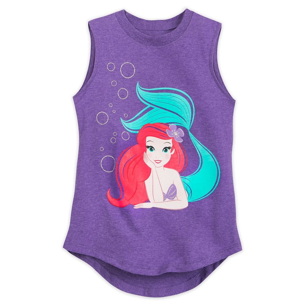 Ariel Tank Top for Girls – The Little Mermaid