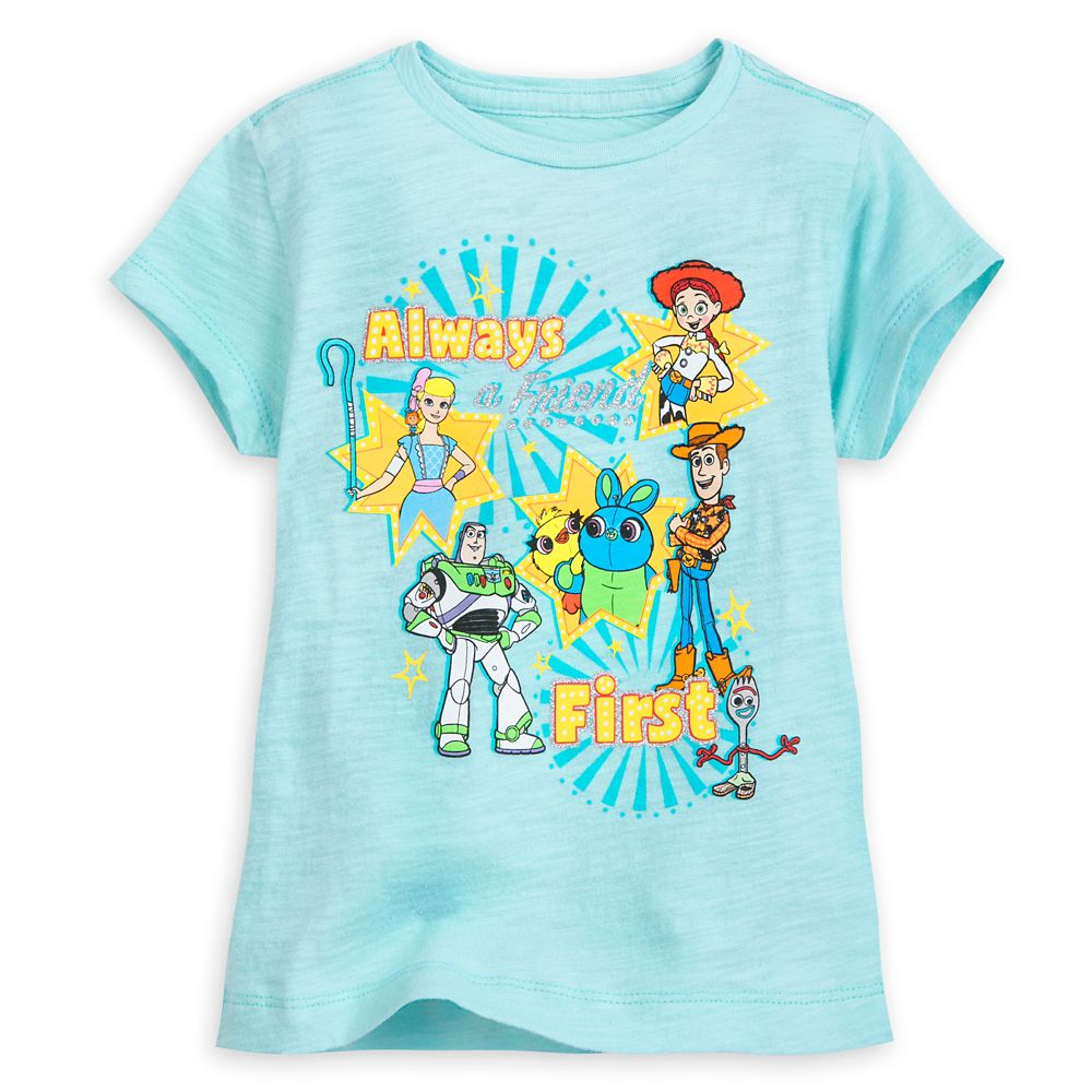 a9e6937fc911f Toy Story 4 T-Shirt for Girls