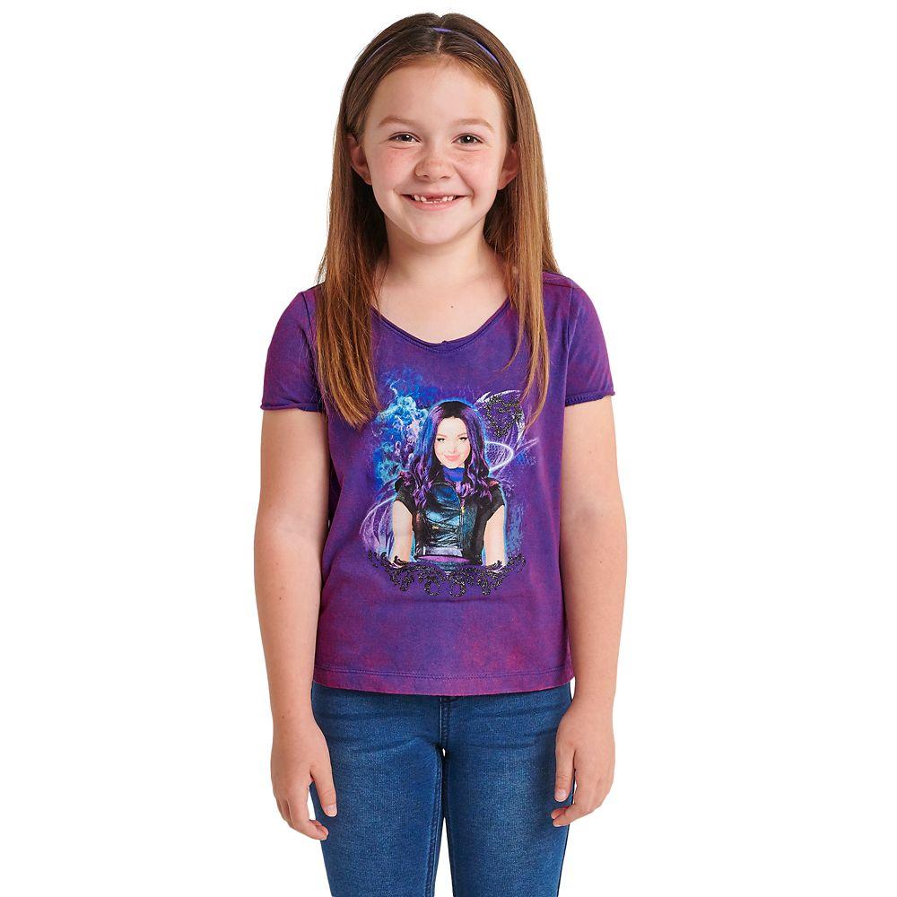 Mal Acid Wash T-Shirt for Kids – Descendants 3