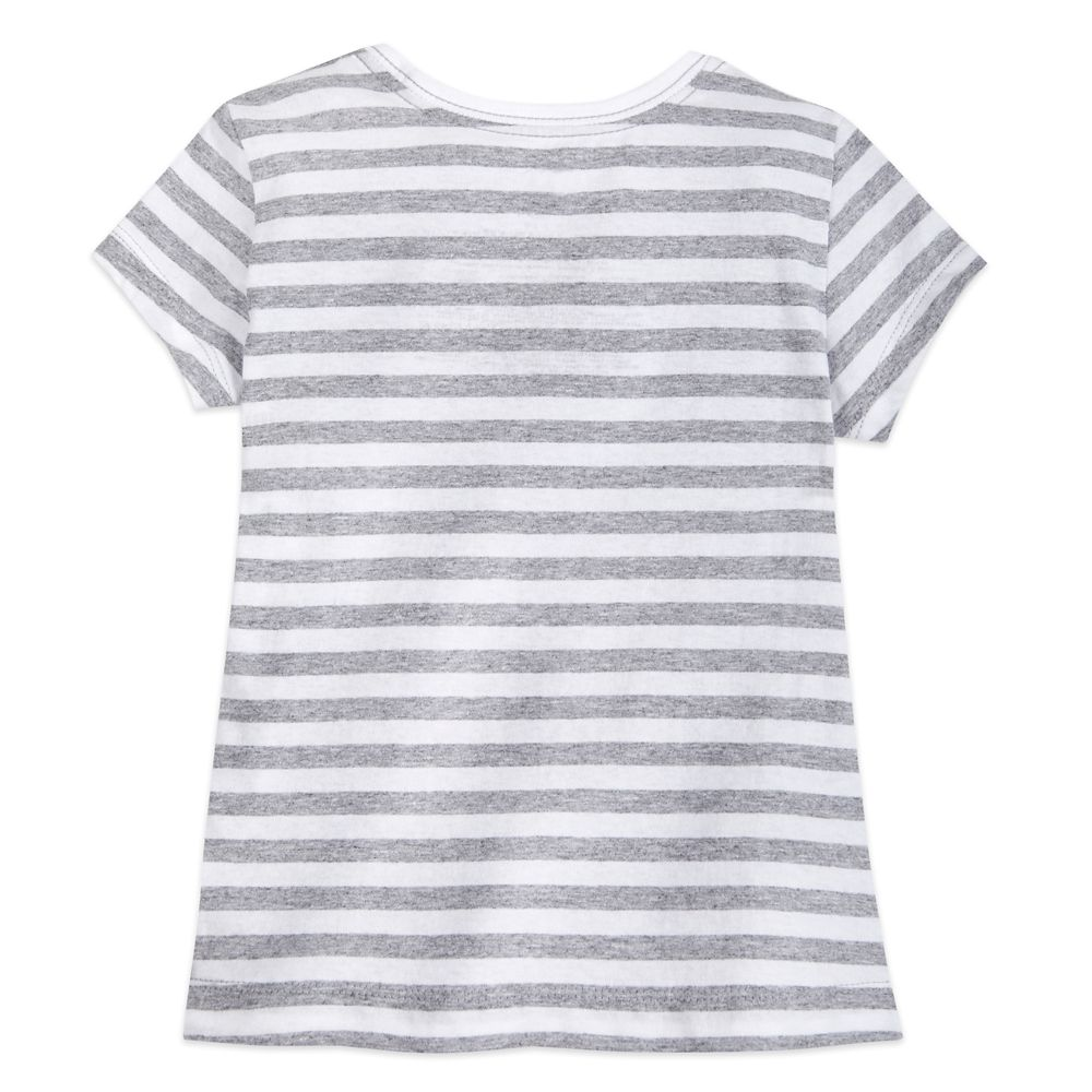 Minnie Mouse Striped T-Shirt for Girls