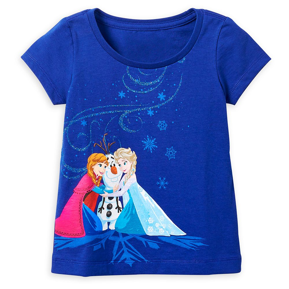 Anna, Elsa, and Olaf T-Shirt for Girls