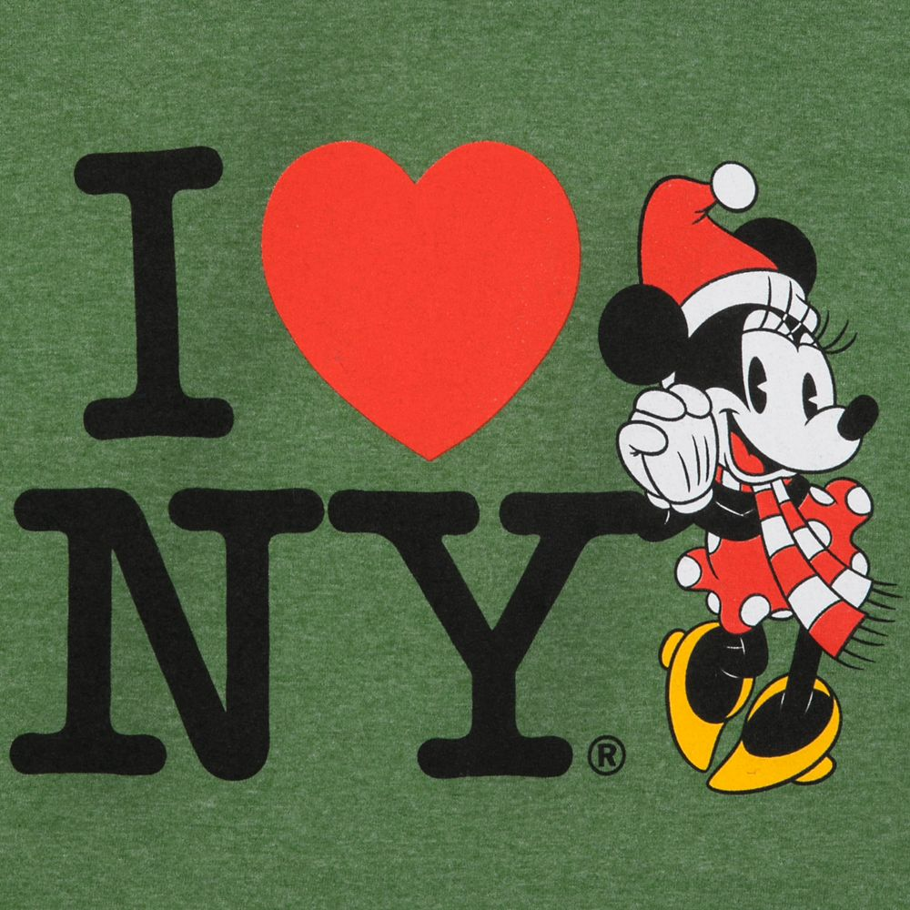 Minnie Mouse Holiday T-Shirt for Girls – I ♥ NY