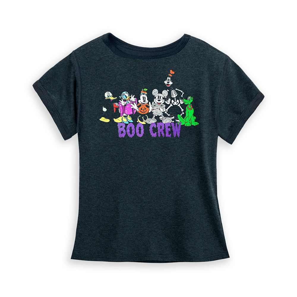 Mickey Mouse and Friends Halloween T-Shirt for Girls – Sensory Friendly