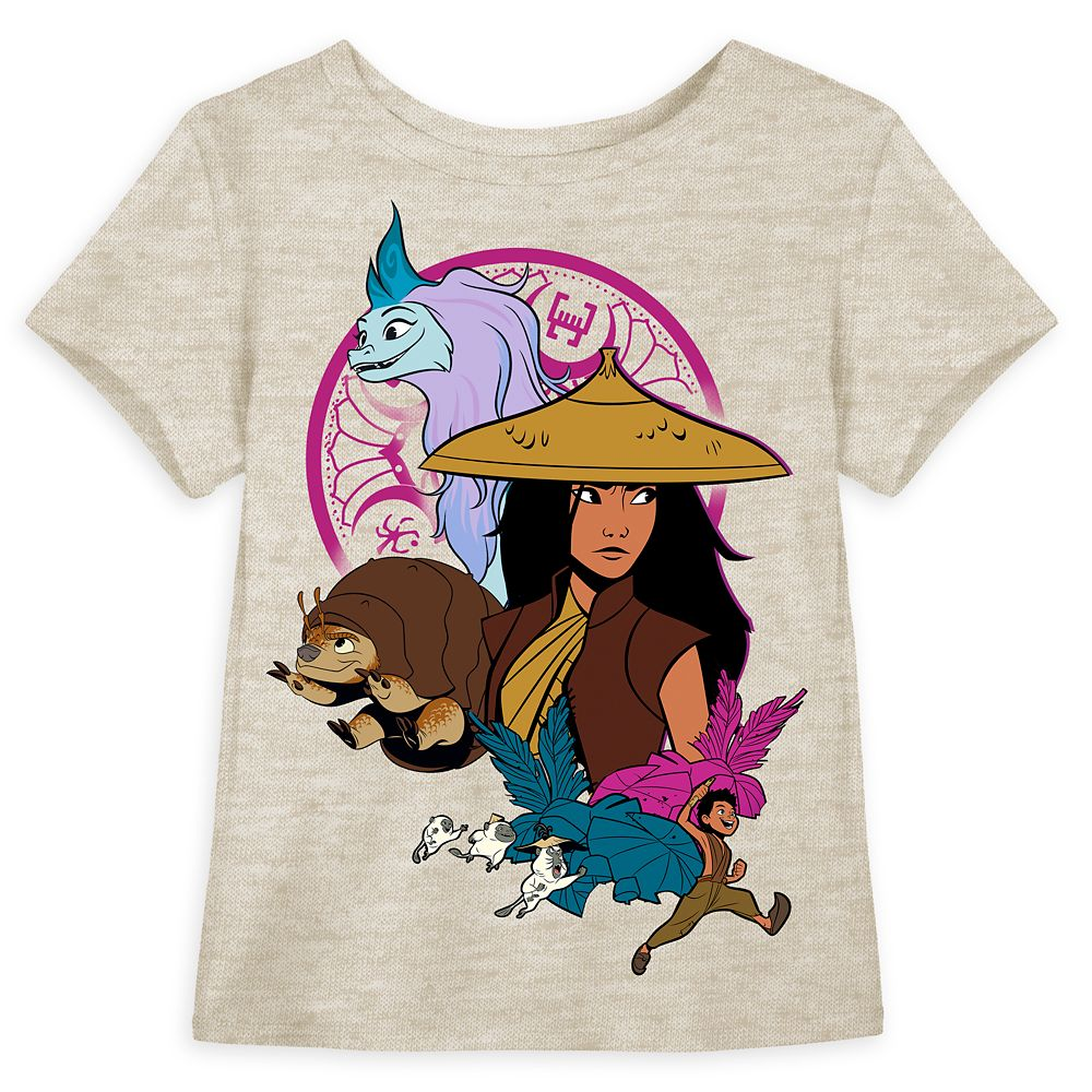 Raya ''Warrior'' T-Shirt for Girls – Disney Raya and the Last Dragon