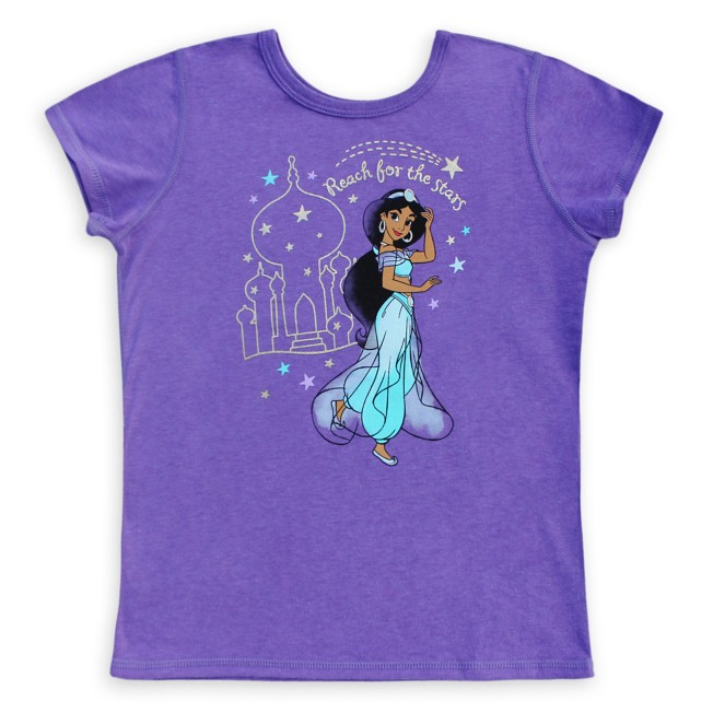 Jasmine T-Shirt for Girls – Aladdin – Sensory Friendly