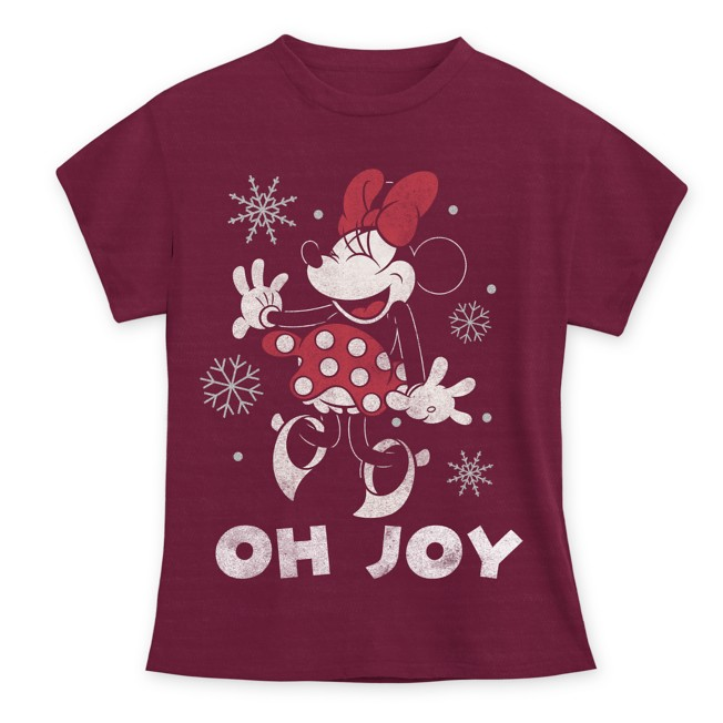 Minnie Mouse Holiday T-Shirt for Kids