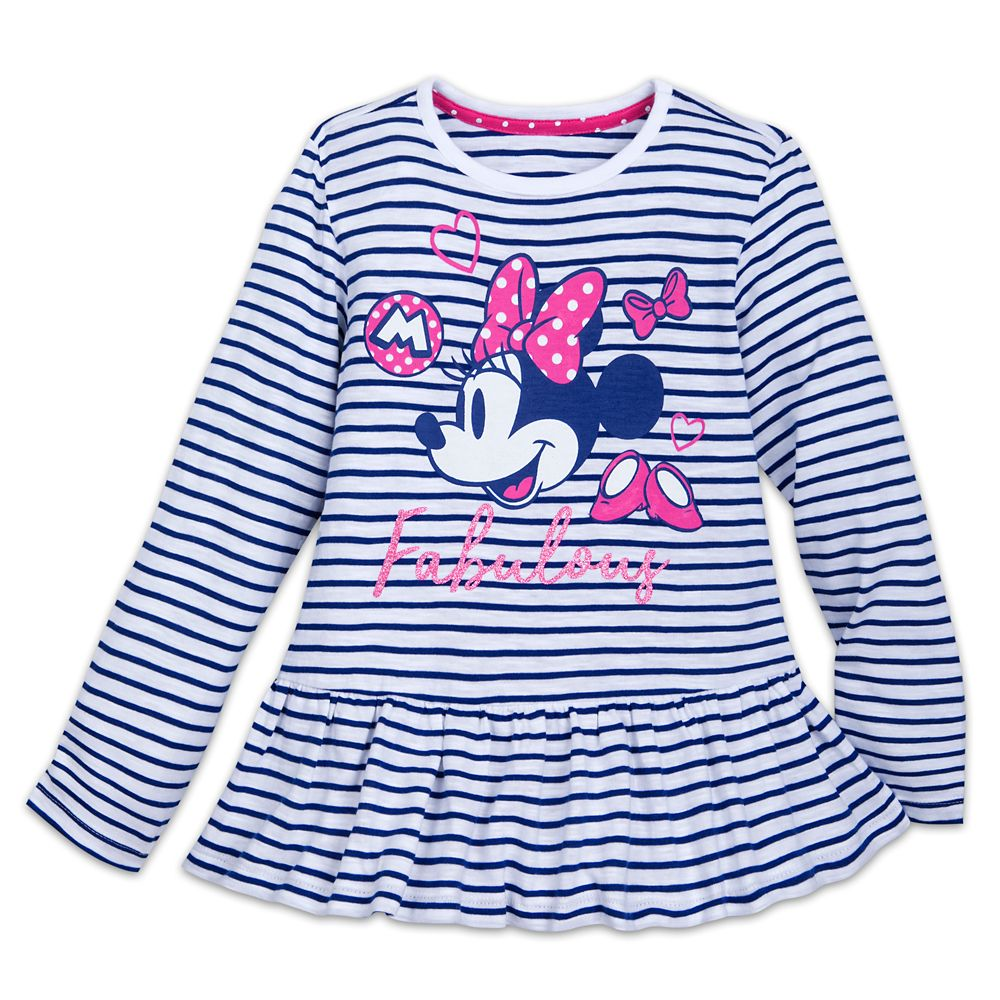 Minnie Mouse ''Fabulous'' T-Shirt for Girls