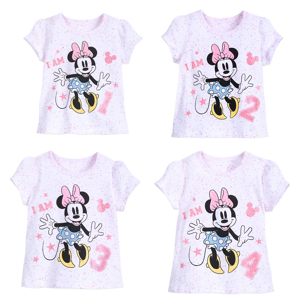 Minnie Mouse ''I Am . . .'' Birthday Tee for Girls Official shopDisney