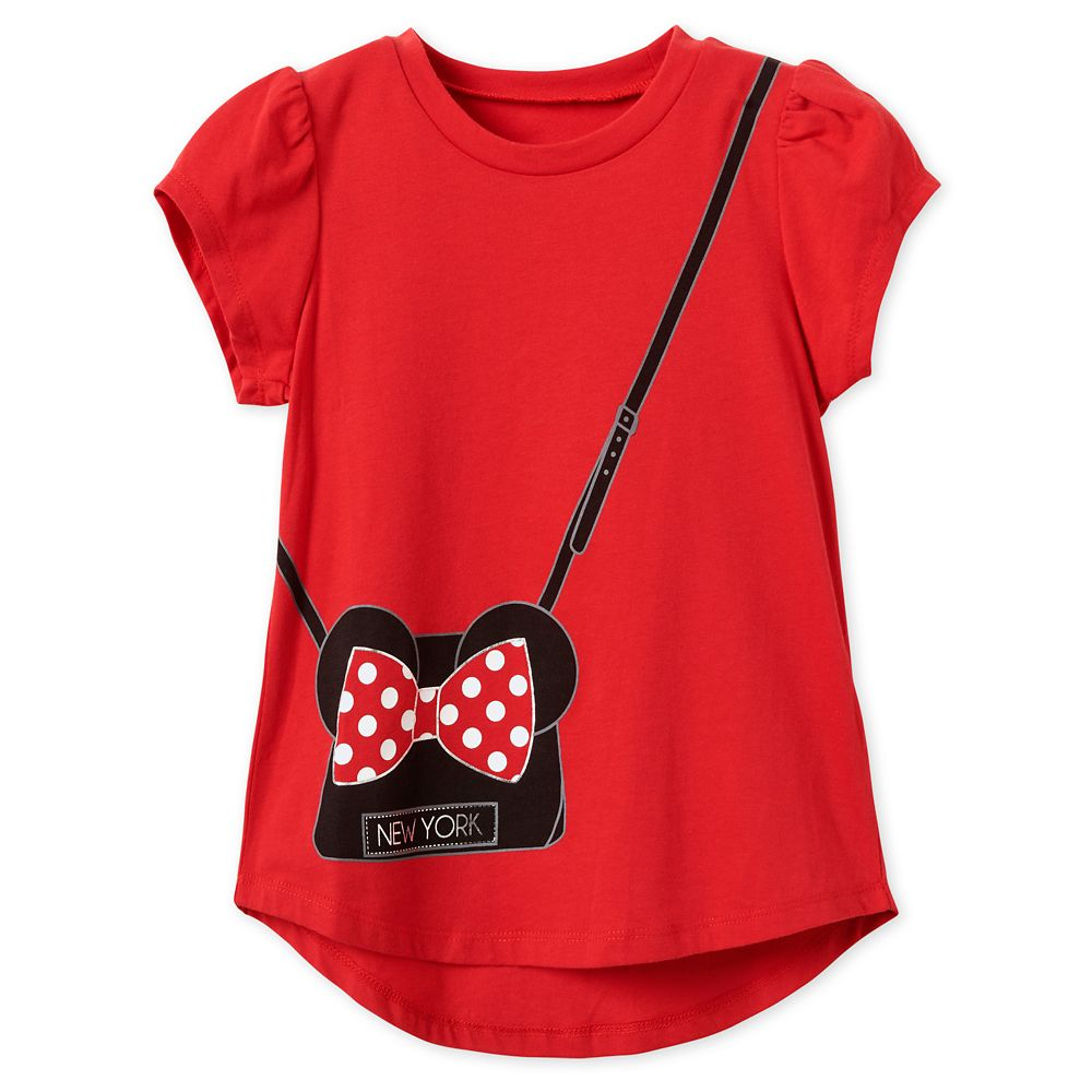 Minnie Mouse Purse T-Shirt for Girls - New York City