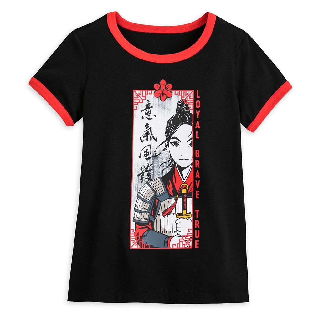 Mulan Ringer T-Shirt for Girls – Live Action Film