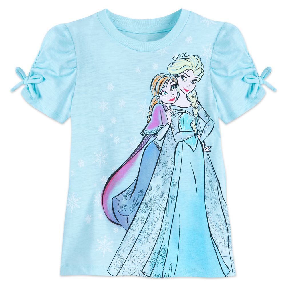 Anna and Elsa T-Shirt for Girls Official shopDisney