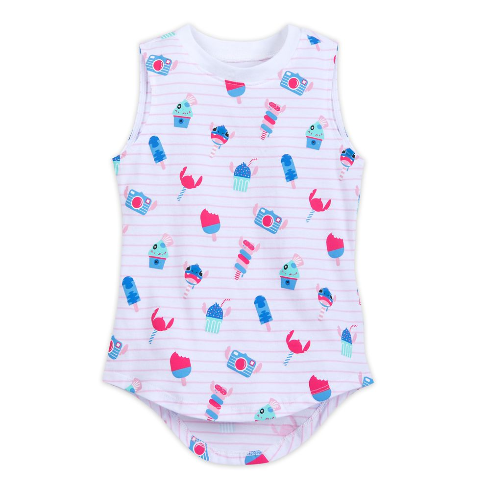 Stitch Striped Tank Top for Girls  Lilo & Stitch Official shopDisney