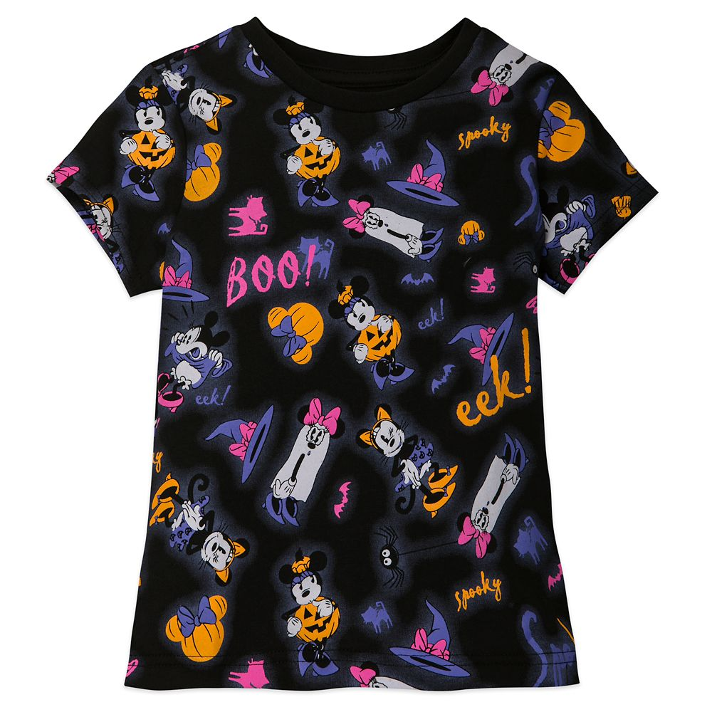 Minnie Mouse Halloween T-Shirt for Girls Official shopDisney
