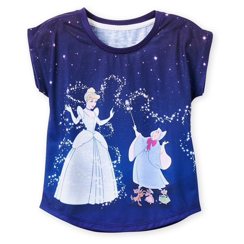 Cinderella Dolman T-Shirt for Girls