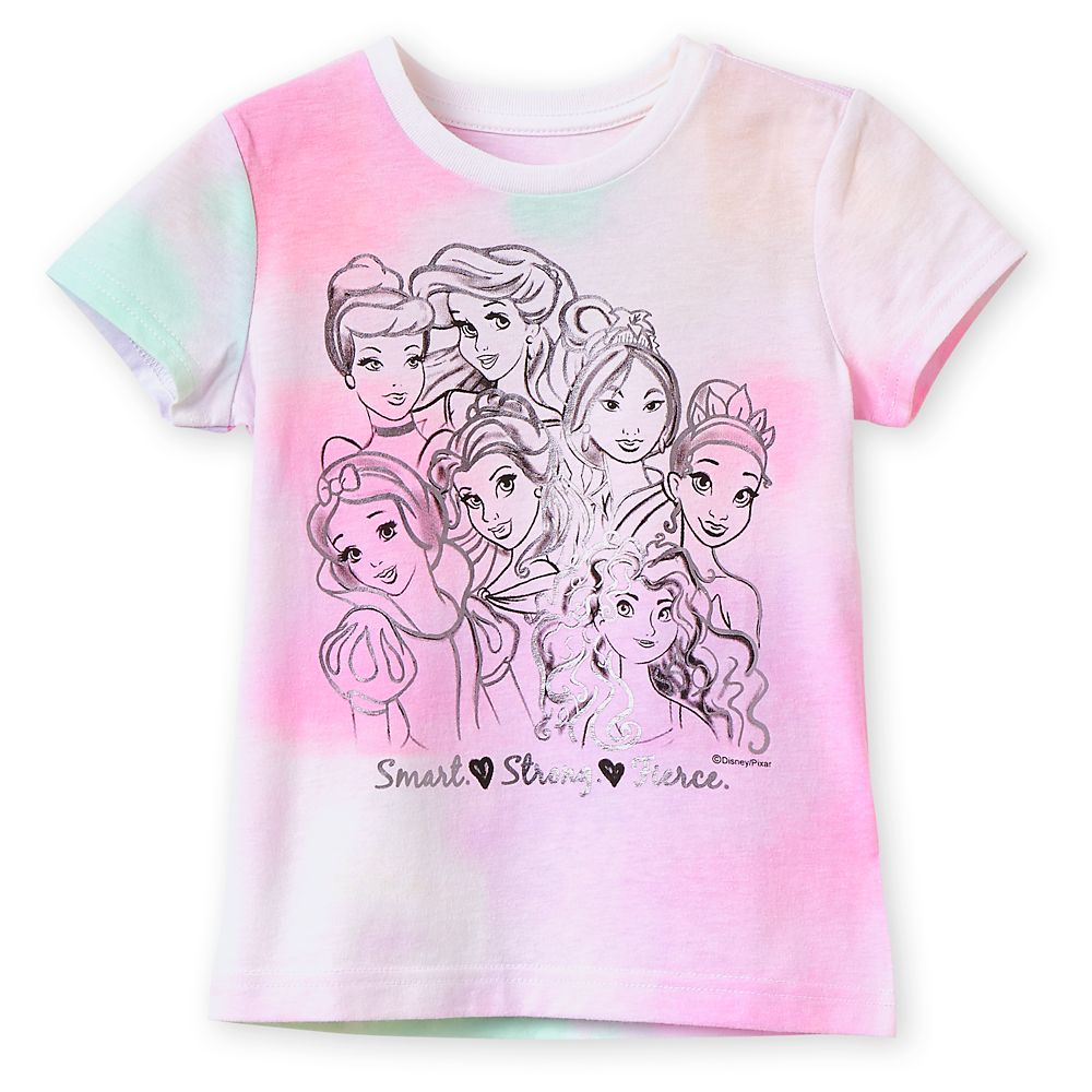 Disney Princess Tie-Dye T-Shirt for Girls