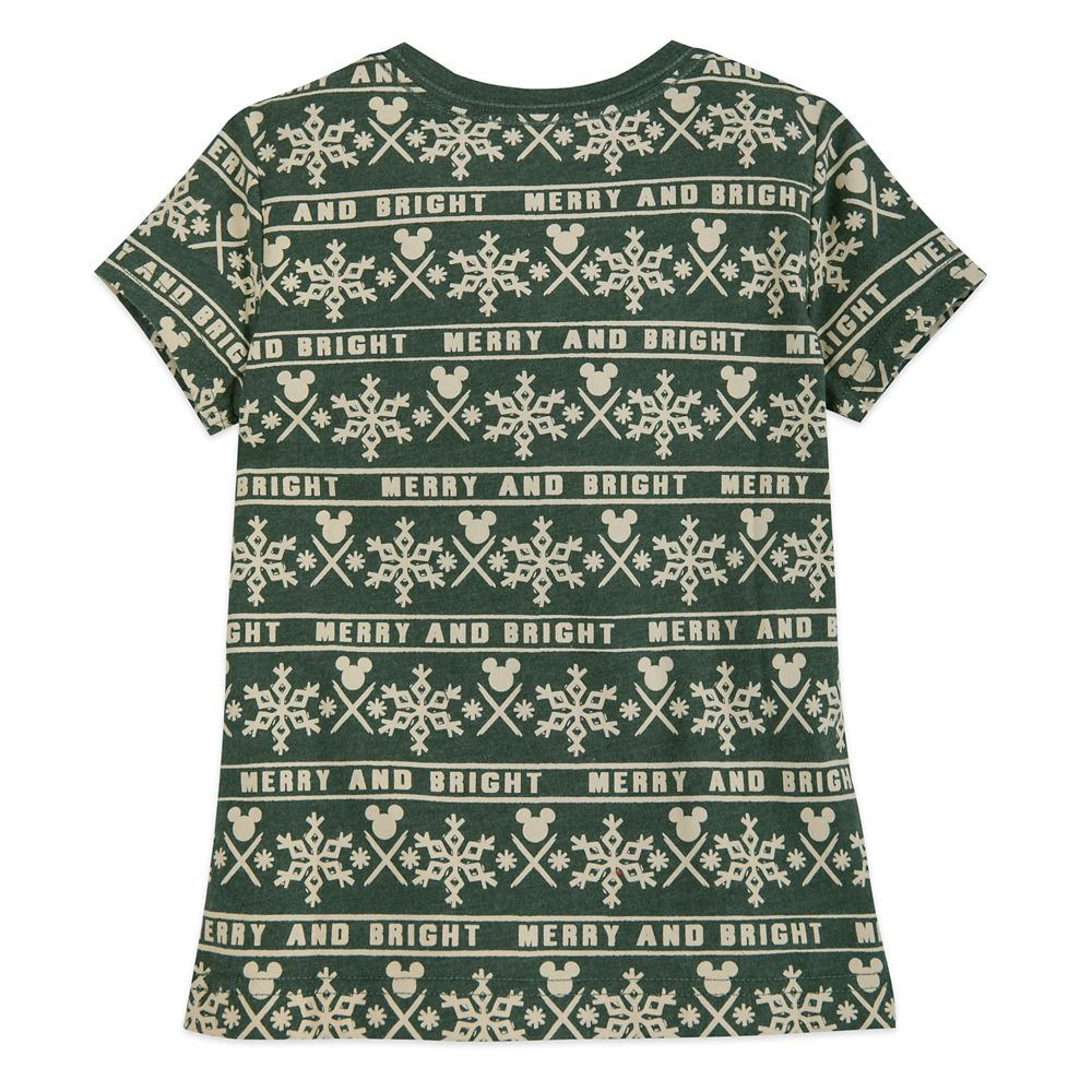Minnie Mouse Holiday Cheer T-Shirt for Girls
