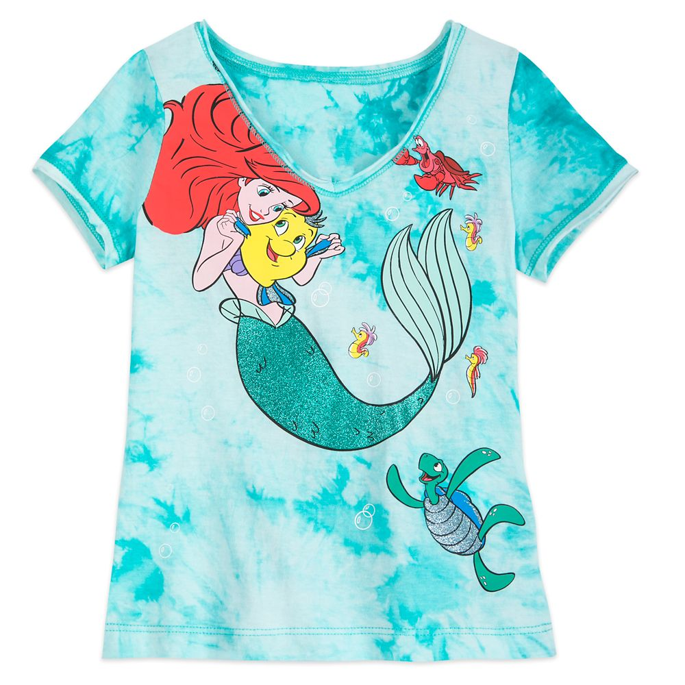 Ariel Tie-Dye T-Shirt for Girls